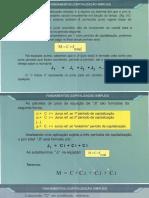 1 Juros Simples - Lista de Engenharia economica Professora Paula UnB - FGA