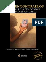 Hasta Encontrarlos Drama de La Desaparicion Forzada en Colombia