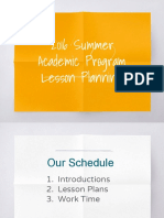 summer academic program