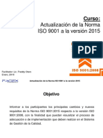 Curso ISO 9001 2015