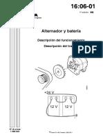 Alternador y Bateria-Descrripción de Funcionamiento-Descripción de Trabajo