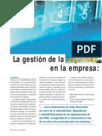 La Gestion de La Seguridad de La Informacion en La Empresa_ ISO 27001.2006