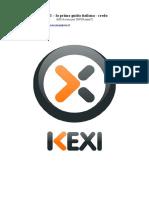 KEXI La Prima Guida Italiana