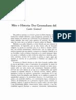 Yurkievich, Saúl - Mito e Historia Dos Generadores Del Canto General