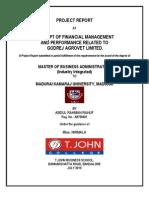 Project of Godrej Agrovet Ltd,