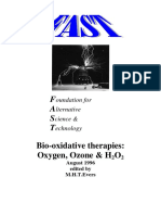 Bio-xidative Therapies Ozone Oxygen h2o2