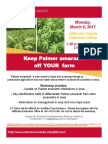 Palmer Amaranth Workshop Flier_Jefferson County