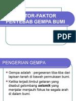 Faktor Penyebab Gempa Bumi (Rsbi) 7 SMP