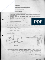 Question Paper-Theory Of Machine- May 11-(Mumbai University)