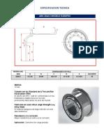 Especificacion Aro 20x8.5-2pzas-Modelo Europeo