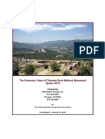 Chimney Rock National Monument 2016 visitor survey, economic impact report for Chimney Rock Interpretive Association