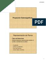 Mecanica de Rocas - 2 - Proyeccion Estereografica