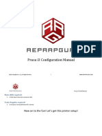 Prusa i3 Config Manual