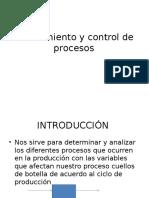 Planeamiento y Control de Procesos