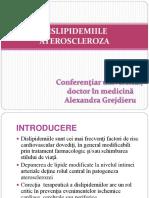 3. Dislipidemiile Ateroscleroza Final
