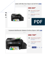 Impresora Duplex Tinta 2017