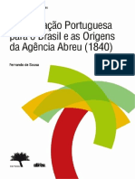 A Emigracao Portuguesa Para o Brasil e as Origens Da Agencia Abreu