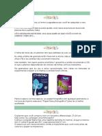 Guia de Instruções de Impressão Do Planner
