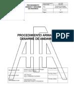 Procedimiento Armado y Desarme de Andamios CCMA AFA 2016