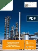 Eadic OEA Master Plantas Industriales