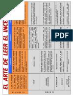 El Arte de Leer El Fuego Protocolo Hcal