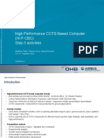 DSP Day 2014 - High Performance COTS Based Computer AB S&D CGS