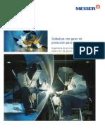 Soldadura Con Gases Protectores de Materiales de Aluminio