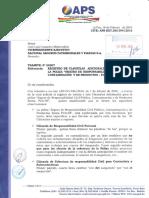 Registro de Clausulas Adicionales Para Incluir a La Póliza Seguro de Responsabilidad Civil Pública, Contaminación y de Pro