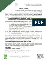 Covocatoria de Servicio Social Con Lenguaje Incluyente ENE-JUN 2017