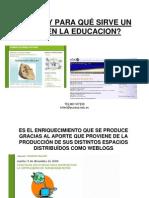 Uso de blog en educación