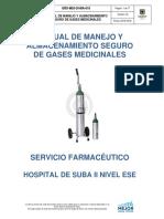 Almacenamiento de Gases Medicinales