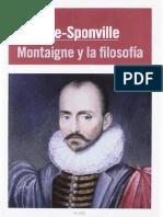 André Comte Sponville - Montaigne y la filosofía.pdf
