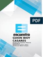 Bioy Casares Capitulo Unico