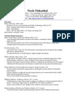 nikki finkenthal resume  updated