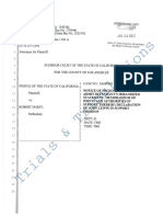 Robert Durst People's Motion to Admit Defendant's Mirandized Statements