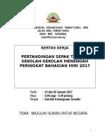 Kertas Kerja Sepak Takraw Mssm 2017