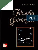 Filosofia Quirurgica por Dr. Moisés Calderón Abbo