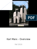 Karl Marx Overview