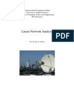 Linear Network Analysis