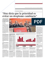 Entrevista a Luis Miguel Castilla durante su cargo como ministro de Economía