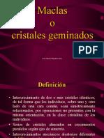 Clase 8. Cristalografía-Maclas