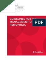 Guidelines Hemophilia