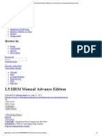 L5 HRM Manual Advance Edition _ Human Resource Management _ Employment