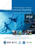 A Reef Manager's Guide to Fostering Community Stewardship