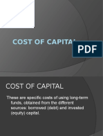 Cost of Capital1