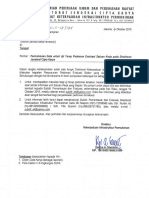 Surat Permohonan Uji Petik Pedoman Satker