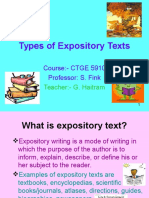 Expository Texts 14290