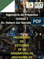 Ingenieria de Proyectos Programa