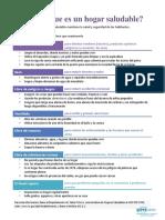 Healthy Home Fact Sheet Spanish Rk