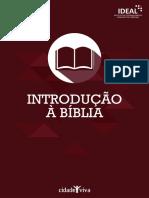 Apostila Introd à Bíblia Completa